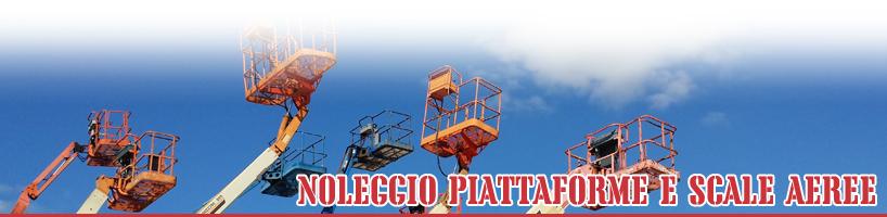 Noleggio piattaforme e scale aeree